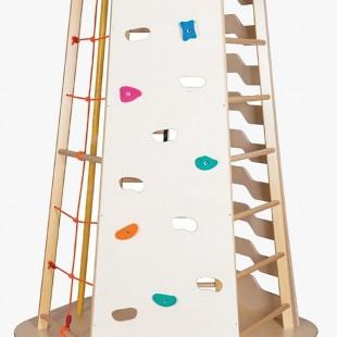 مجموعه چوبی ورزشی سازه نردبانی کد 1216
