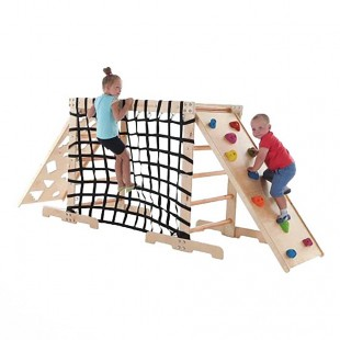 مجموعه چوب و طناب ورزشی کد 1207