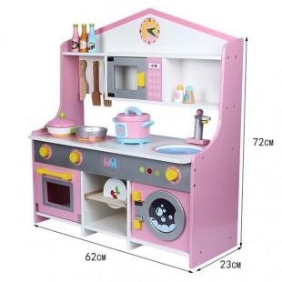 آشپزخانه بازی چوبی