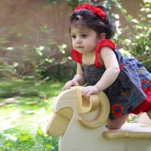 راکر چوبی کودک