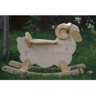 راکر چوبی گوسفند