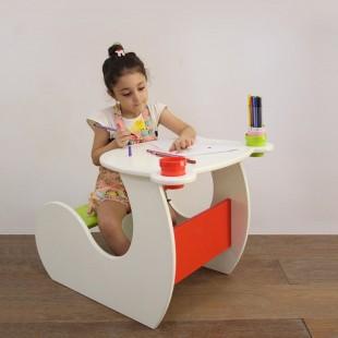 میز تحریر کودک چوبی 2 تا 10 سال