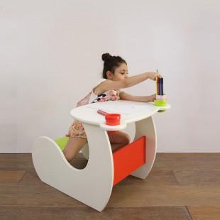 میز تحریر کودک چوبی