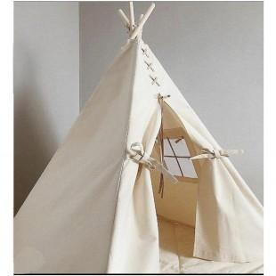 چادر بازی پنجره دار کودک مدل سرخپوستی
