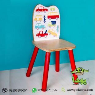 خرید صندلی چوبی کودک پسرانه