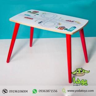 خرید میز چوبی کودک پسرانه