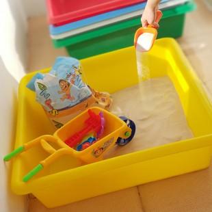 استخر شن بازی خانگی کودک یودا