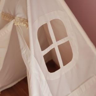 چادر بازی پنجره دار و جیب دار کودک