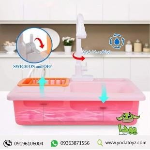 سینک ظرفشویی کودک یا قابلیت ریزش آب