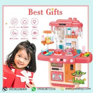 آشپزخانه کودک بزرگ دخترانه