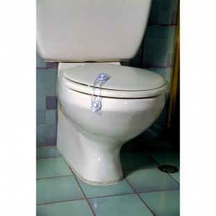 قفل توالت فرنگی