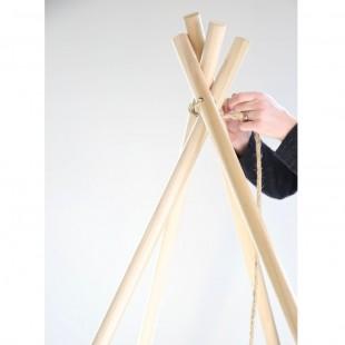 قیمت چوب چادر سرخپوستی