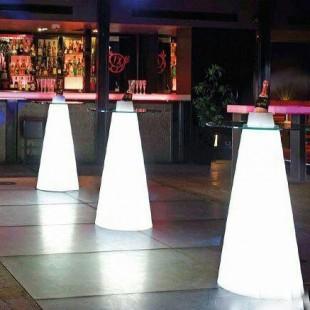 میز سوارز مخروطی ارتفاع بلند
