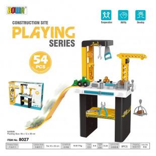 برای پسر 3 ساله چی بخرم؟ میز ابزار اسباب بازی بخر