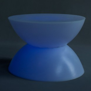 میز عسلی نورانی (led) جلو مبلی ارتفاع 48 سانتیمتر