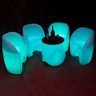 میز نورانی جلو مبلی