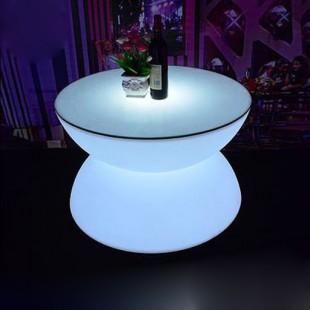 میز نورانی گرد