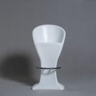صندلی بار پایه فلزی نورانی (LED) ارتفاع 93 سانتیمتر