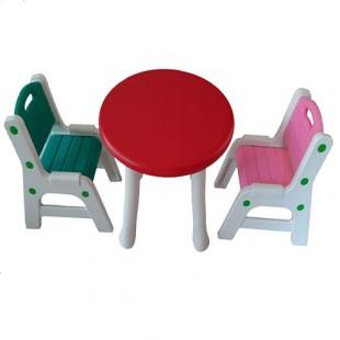 صندلی نیمکتی با میز