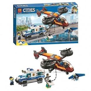 لگو بازی LARY مدل cities کد 11209- لگو بازی کودکان مدل دزد و پلیس