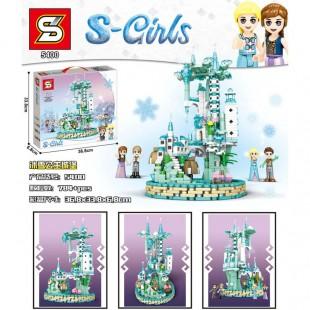 لگو بازی دخترانه مدل قلعه یخی