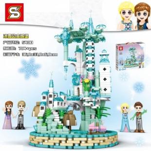 لگو بازی دخترانه مدل قلعه یخی کد 5400-SY