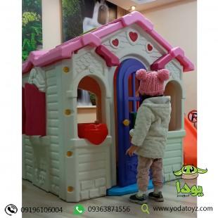 خرید کلبه بازی کودک مدل کلبه باربی ایرانی