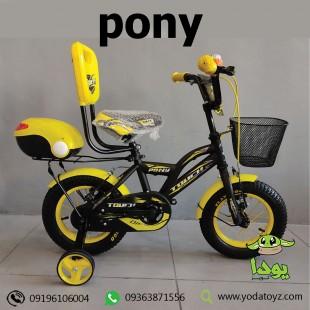 دوچرخه بچه گانه سایز 12 با زین فنر دار برند TOUCH