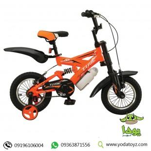 دوچرخه حرفه ای کوهستان کودک برند TIME سایز 12 مدل TITAN