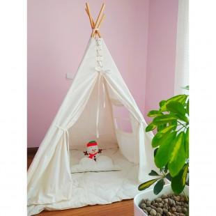 چادر بازی کودک سفید ساده