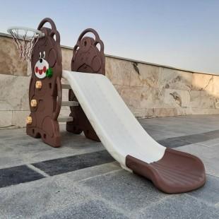 سرسره کودک مدل خرسی  teddy bear slide
