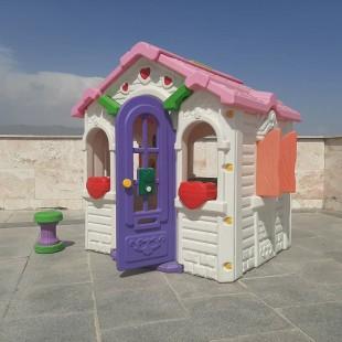 کلبه بازی کودک مدل کلبه باربی ایرانی