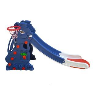 سرسره بلند خانگی کودک مدل خرگوش 4 پله نسل جدید ( سرسره بلند ) new rabbit slide