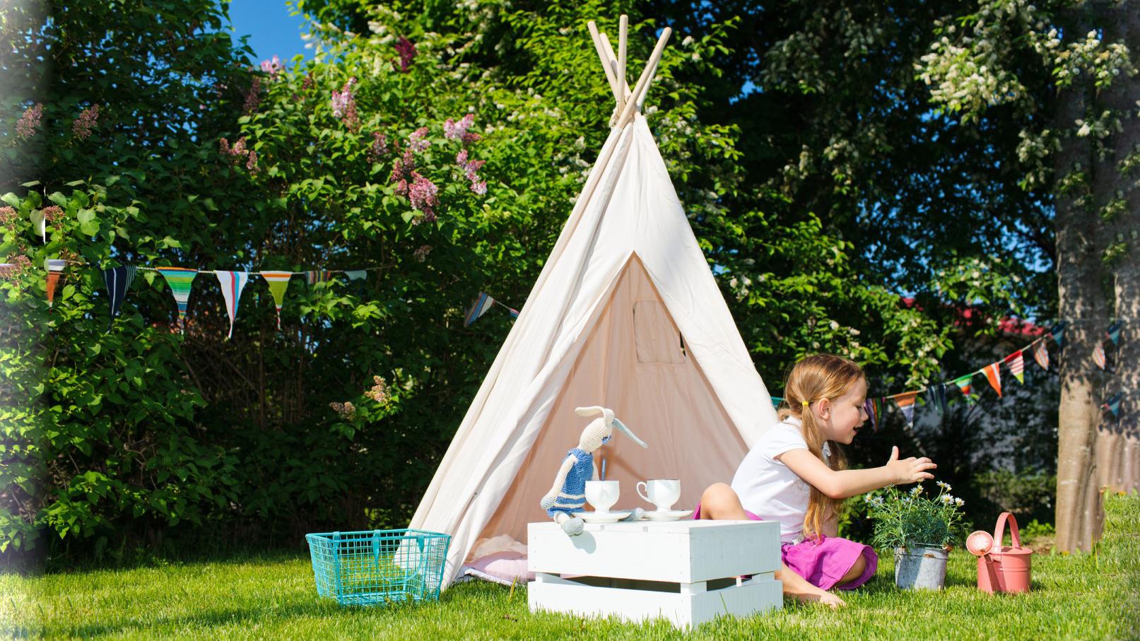 چادر بازی کودک برای فضای باز