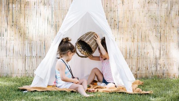 چادر بازی کودک