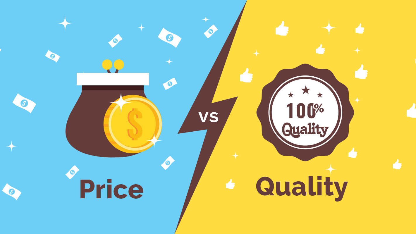 قیمت یا کیفیت؟ مساله این است.