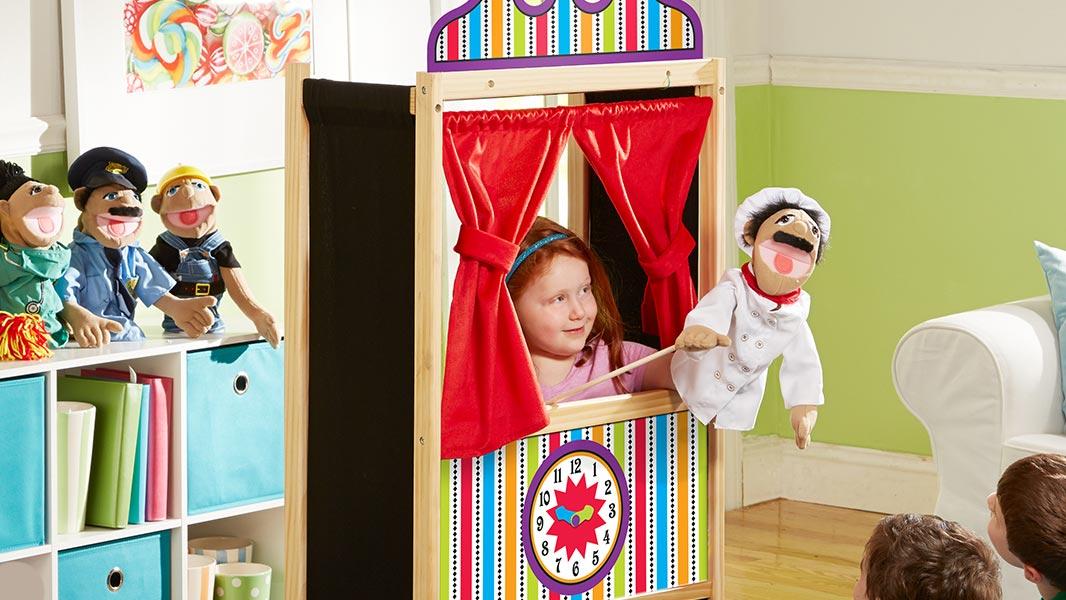 عروسک نمایشی خانگی