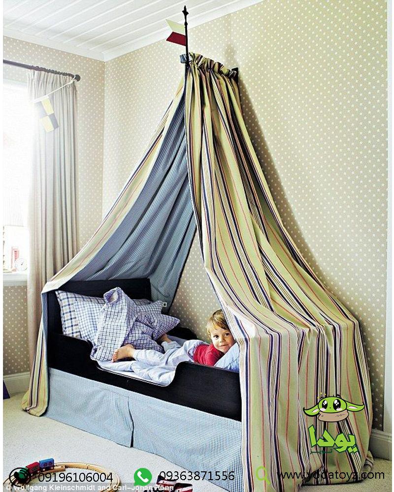 ساخت تخت تاج دار کودک در خانه