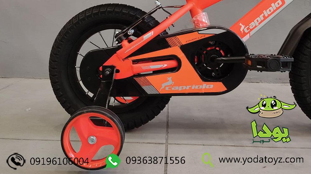 دوچرخه با چرخ کمکی