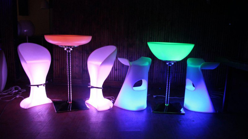 میز led
