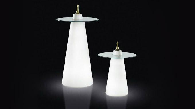 میز مخروطی نورانی