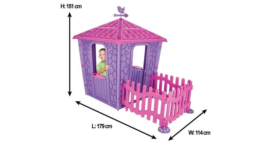 خونه بازی کودک با پارک حفاظ