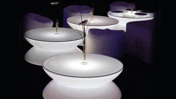 میز عسلی نورانی