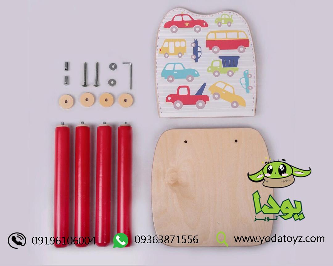 خرید میز چوبی کودک و صندلی چوبی کودک ارزان