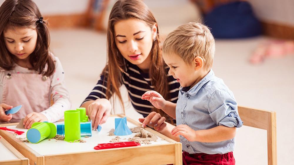 استخر شن بازی مادر و کودک