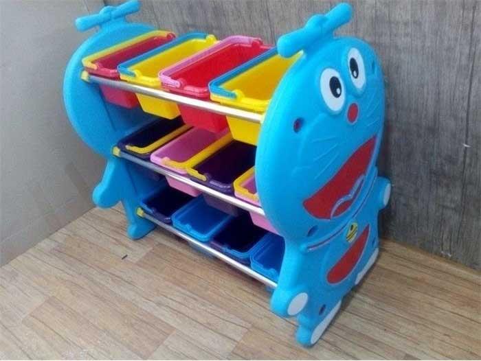 قفسه اسباب بازی آبی