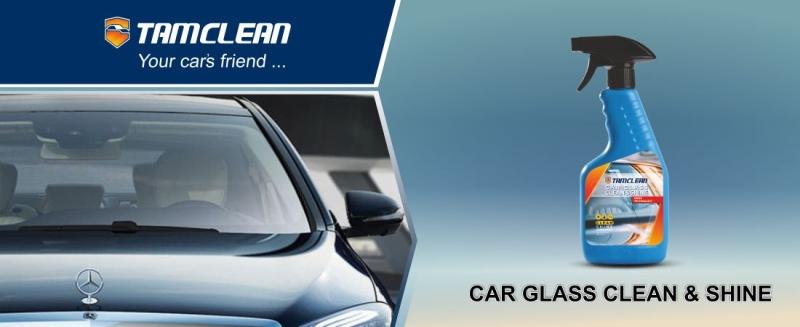 عملکرد اسپری تمیز و براق کننده شیشه خودرو