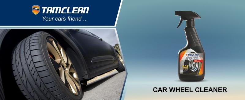ویدیو عملکرد اسپری تمیزکننده رینگ خودرو تام کلین