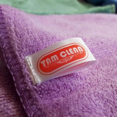 دستمال میکروفایبر نظافت خودرو تام کلین بسته 5 عددی