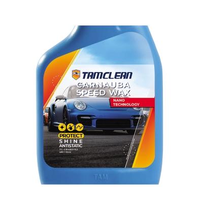 اسپری واکس فوری  بدنه خودرو تام کلین مدل TC-CB480Y62 حجم 480 میلی لیتر